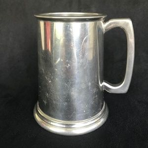Sheffield English Pewter Beer Stein Mug Rustic Bar